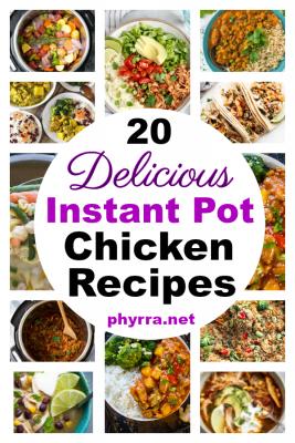Delicious Chicken Instant Pot Recipes