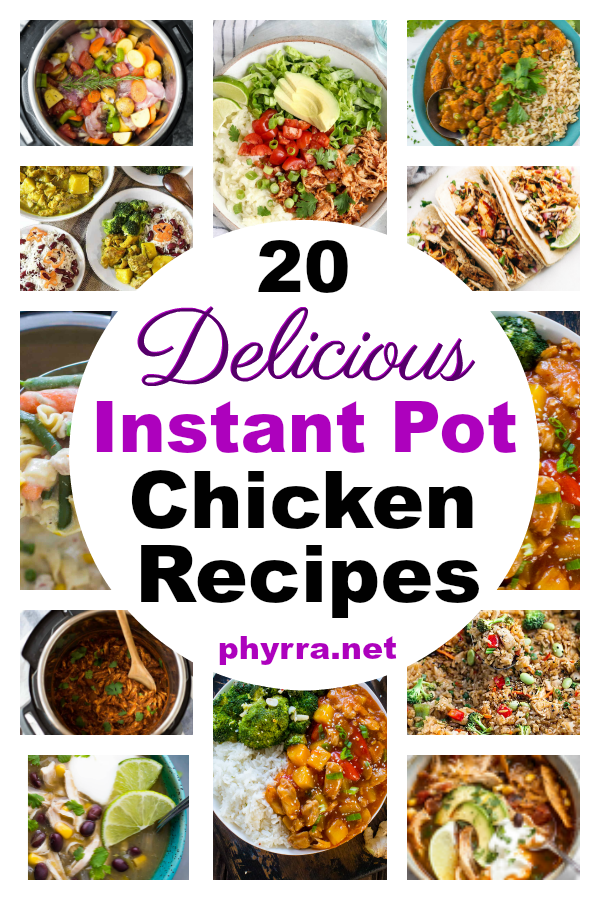 Delicious Chicken Instant Pot Recipes