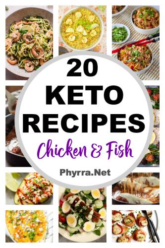 20 Yummy Chicken and Fish Keto Recipes