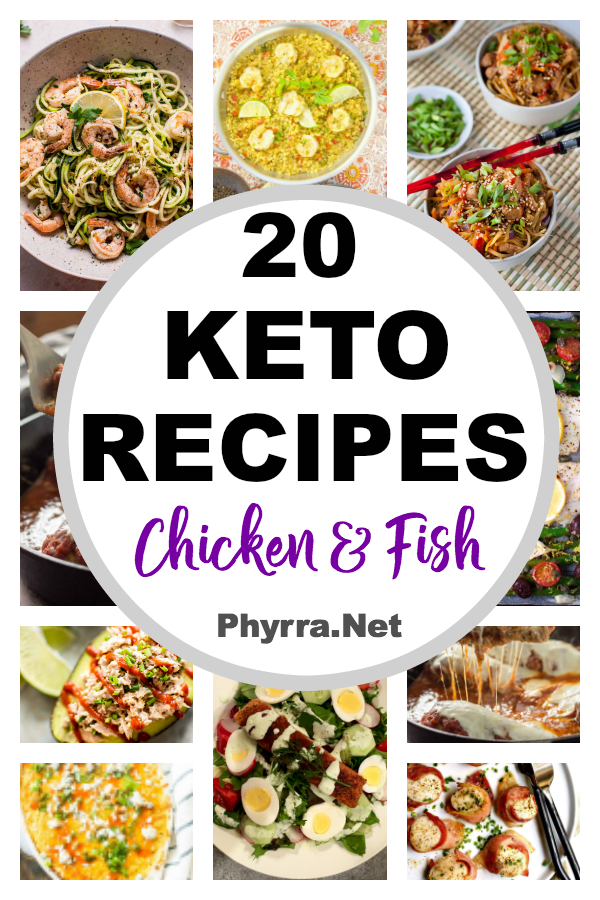 20 Yummy Chicken and Fish Keto Recipes