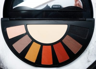 Black Moon Orb of Light Palette Review and Swatches on Fair Skin