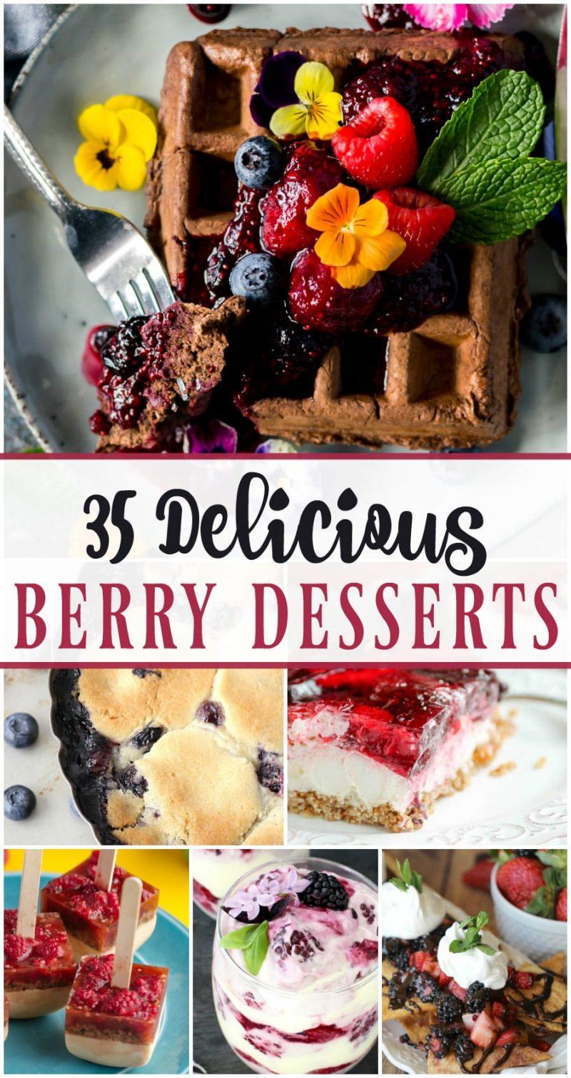 35 Delicious Berry Desserts