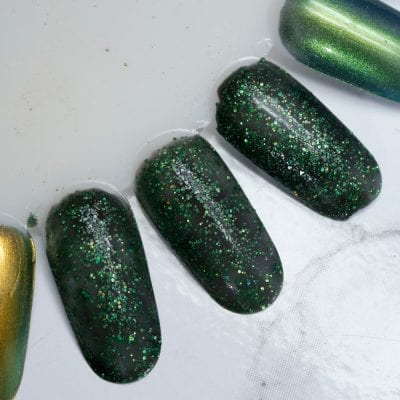 KBShimmer Resting Witch Face swatch