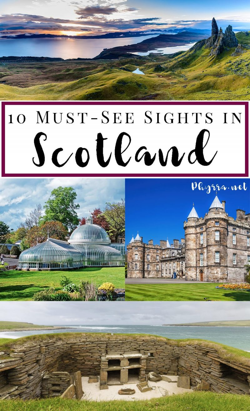 10 Must-See Sights in Scotland