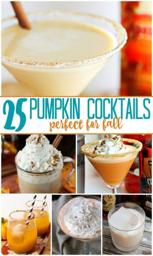 25 Perfect Pumpkin Cocktails for Fall