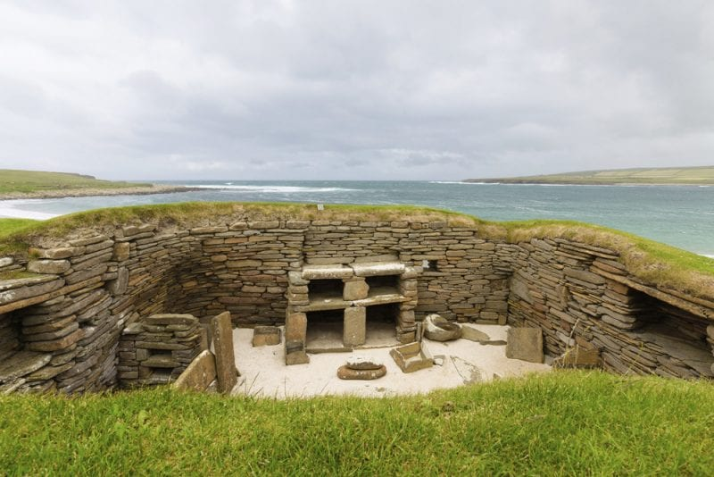 10 Must-See Sights in Scotland - Skara Brae Prehistoric Village
