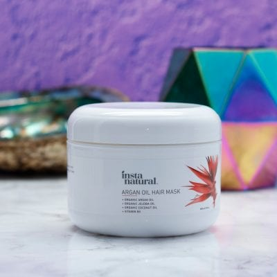 How to Have a Home Spa Day During the Holidays - InstaNatural Argan Oil Hair Mask