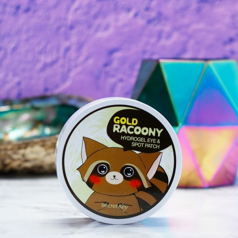 How to Have a Home Spa Day During the Holidays - Secret Key Gold Racoony Hydro Gel Eye Masks