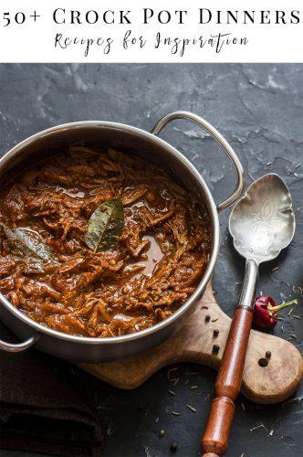 One Meal Crock Pot Dinner Recipes