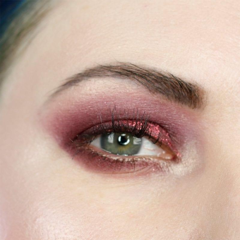Red Smokey Eyes Makeup
