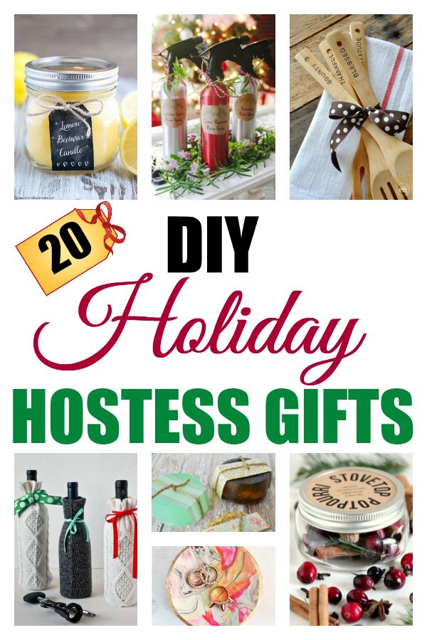 20 DIY Holiday Hostess Gifts