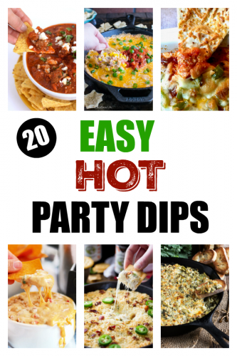 20 Easy Party Dips Recipes for Your Next Party