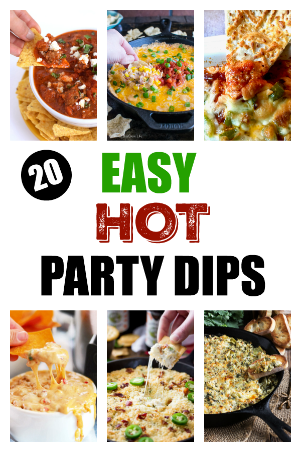 20 Easy Party Dips Recipes For Your Next Party Try A New Dip