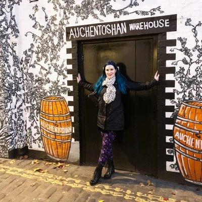 Standing in the doorway in Glasgow
