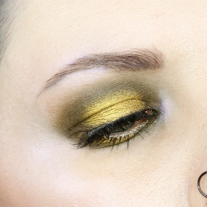 Dirty Golden Green Tutorial
