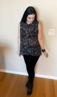Modern Goth Fashion Inspiration with Courtney from Phyrra