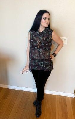 Modern Goth Witch Fashion Inspiration