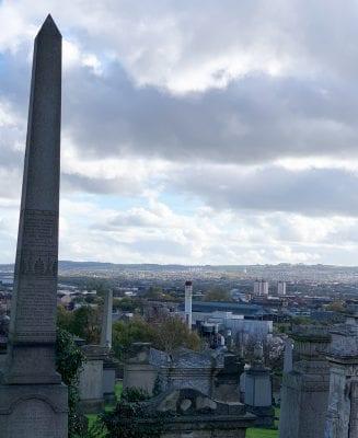 Necropolis Cemetery, Glasgow Scotland