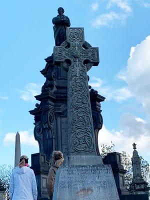 Necropolis Cemetery in Glasgow Scotland