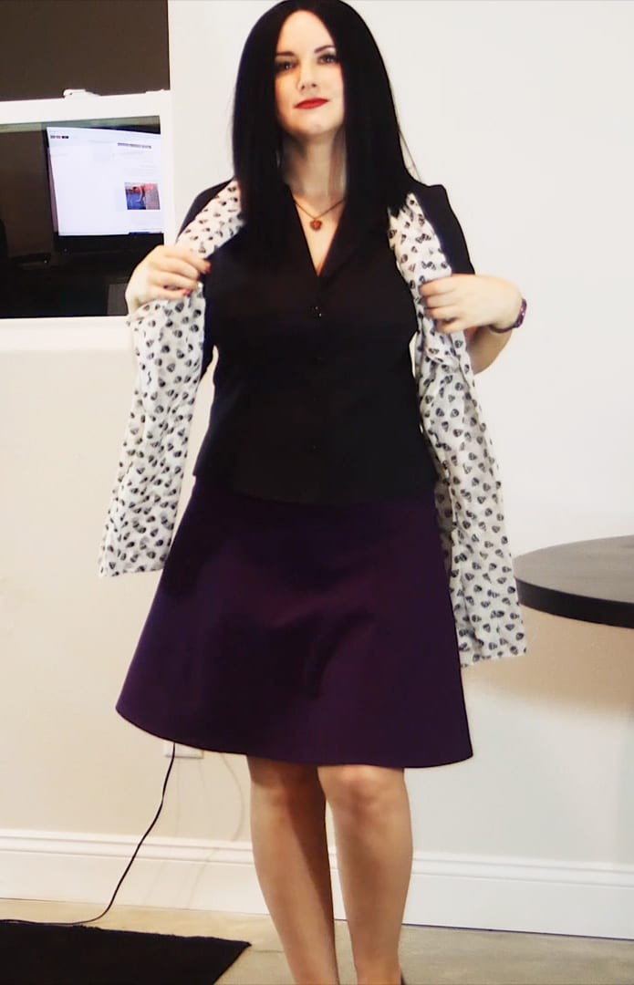 Office Goth Outfit