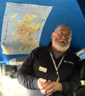 Highlands of Scotland Tour Bus Driver