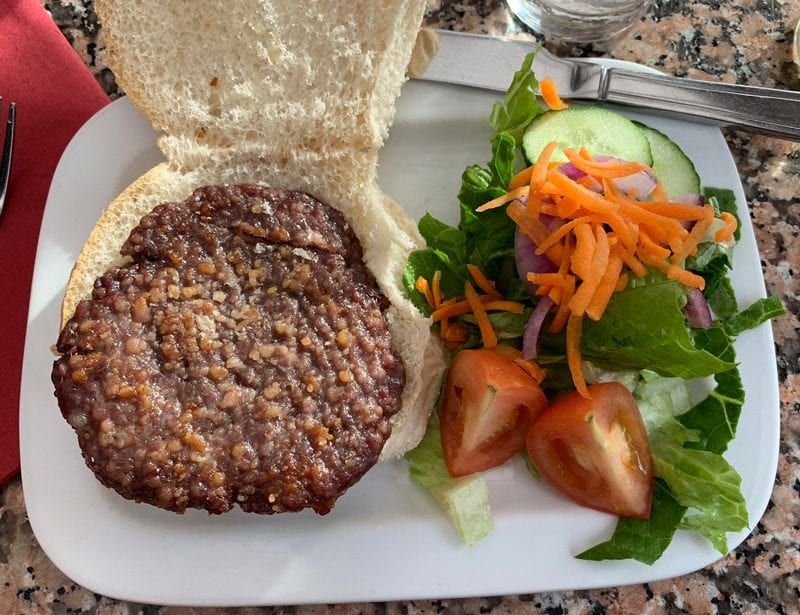 Loch Ness Venison Burger
