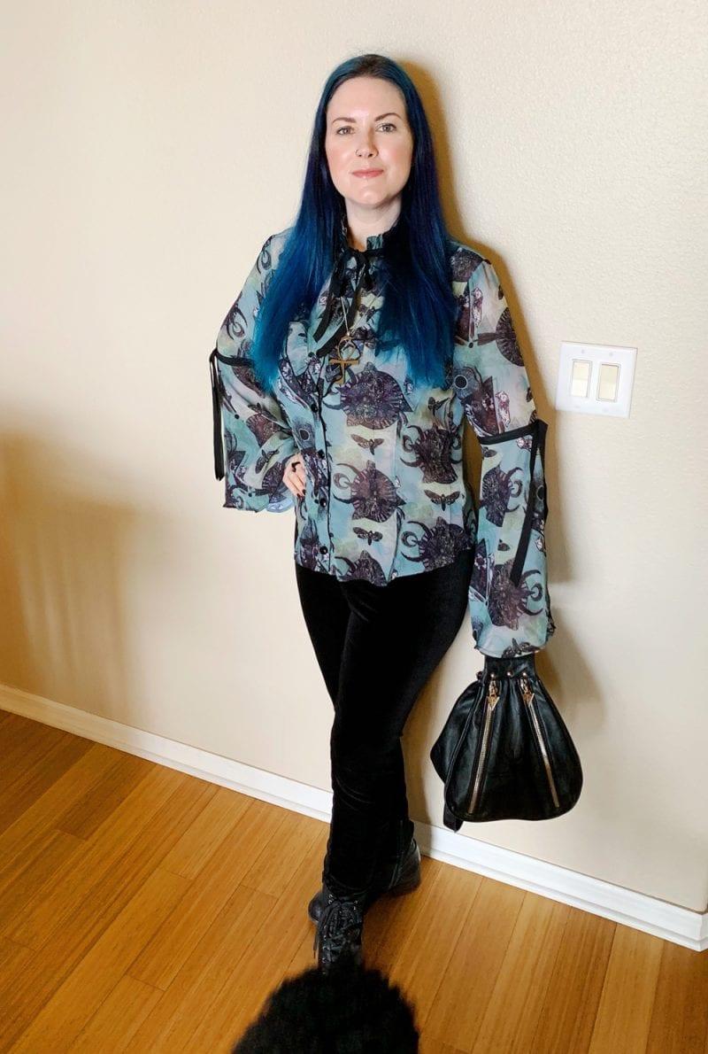 Widow Dark Dreaming Mini Backpack