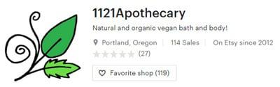 1121 Apothecary