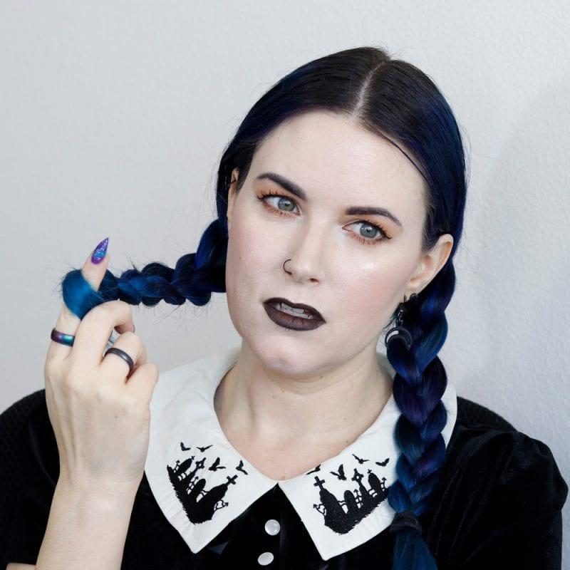 Everyday Goth Hair Tutorial
