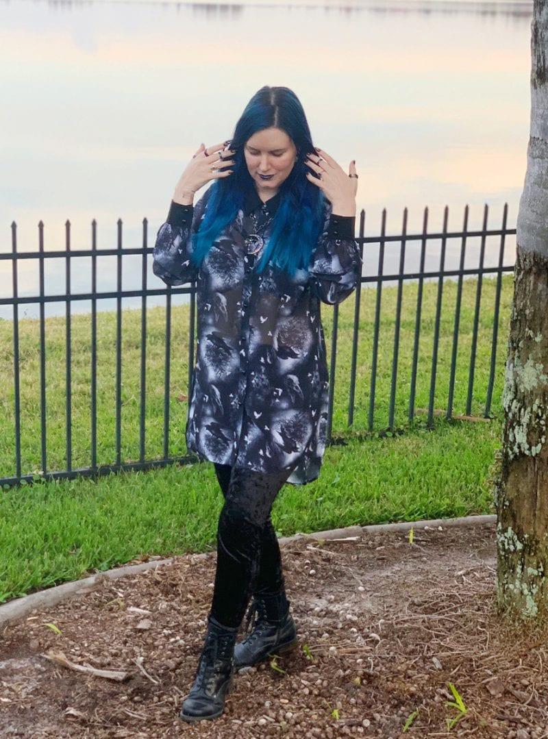 Gothic Witch Fashion