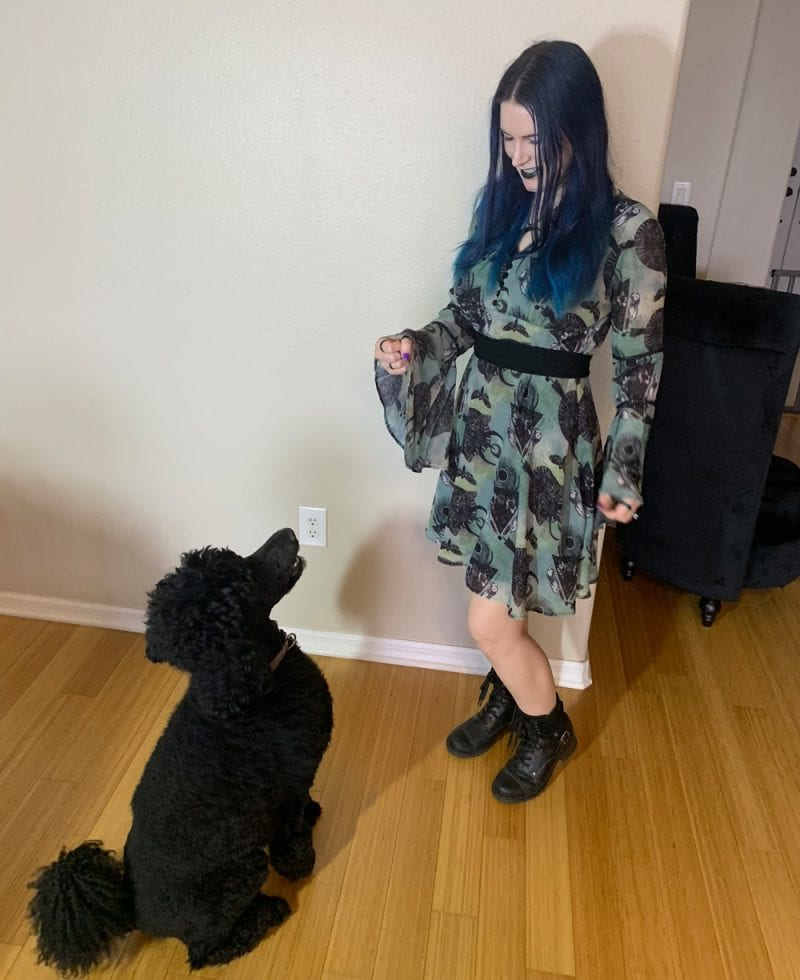 Green Witch Dress