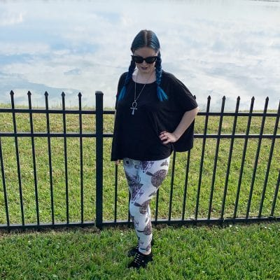 Hell Bunny After Death Leggings