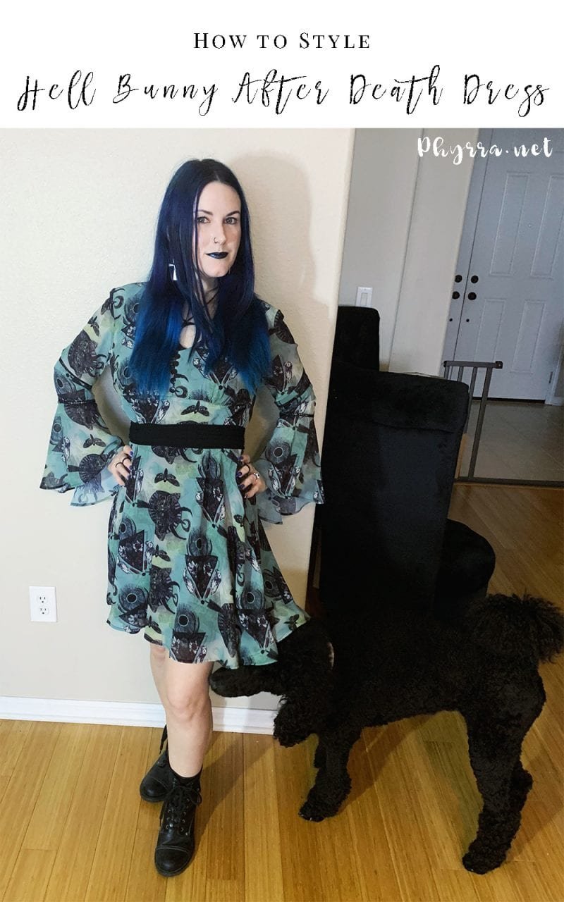 How to Style the Hell Bunny After Death Mini Dress