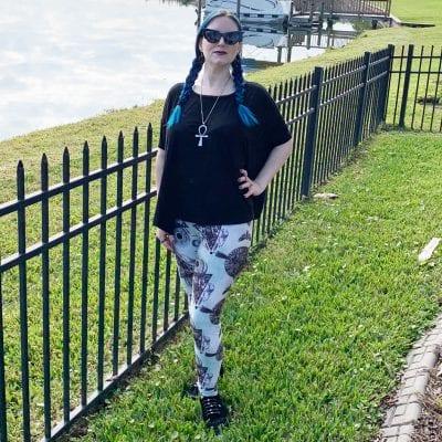 La Femme En Noir Batwing Sunglasses