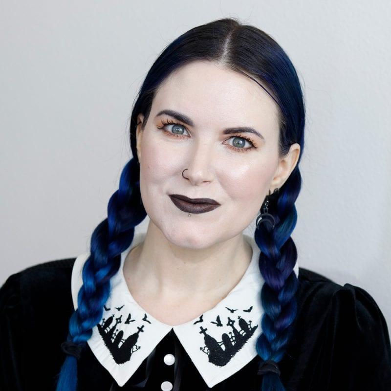 Everyday Goth Makeup Tutorial