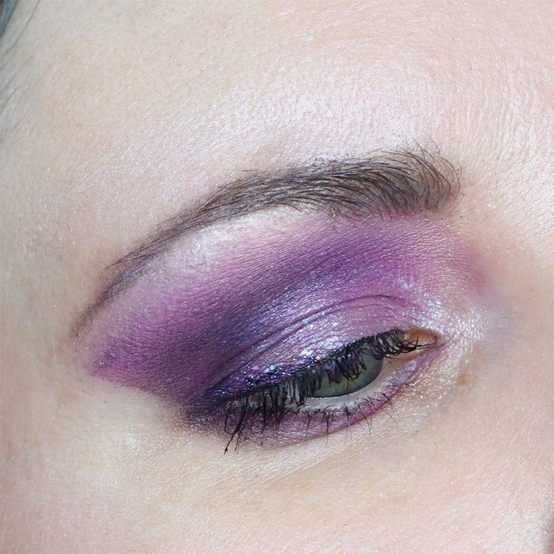 Saucebox Secret Garden Purple Look