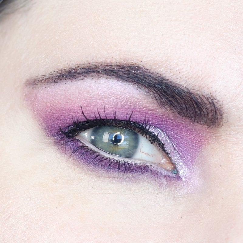 Saucebox Secret Garden Palette Tutorial for Hooded Eyes