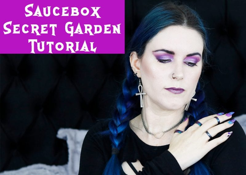 Saucebox Secret Garden Palette Tutorial