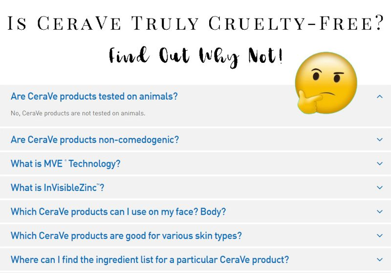 Is CeraVe Cruelty-Free?