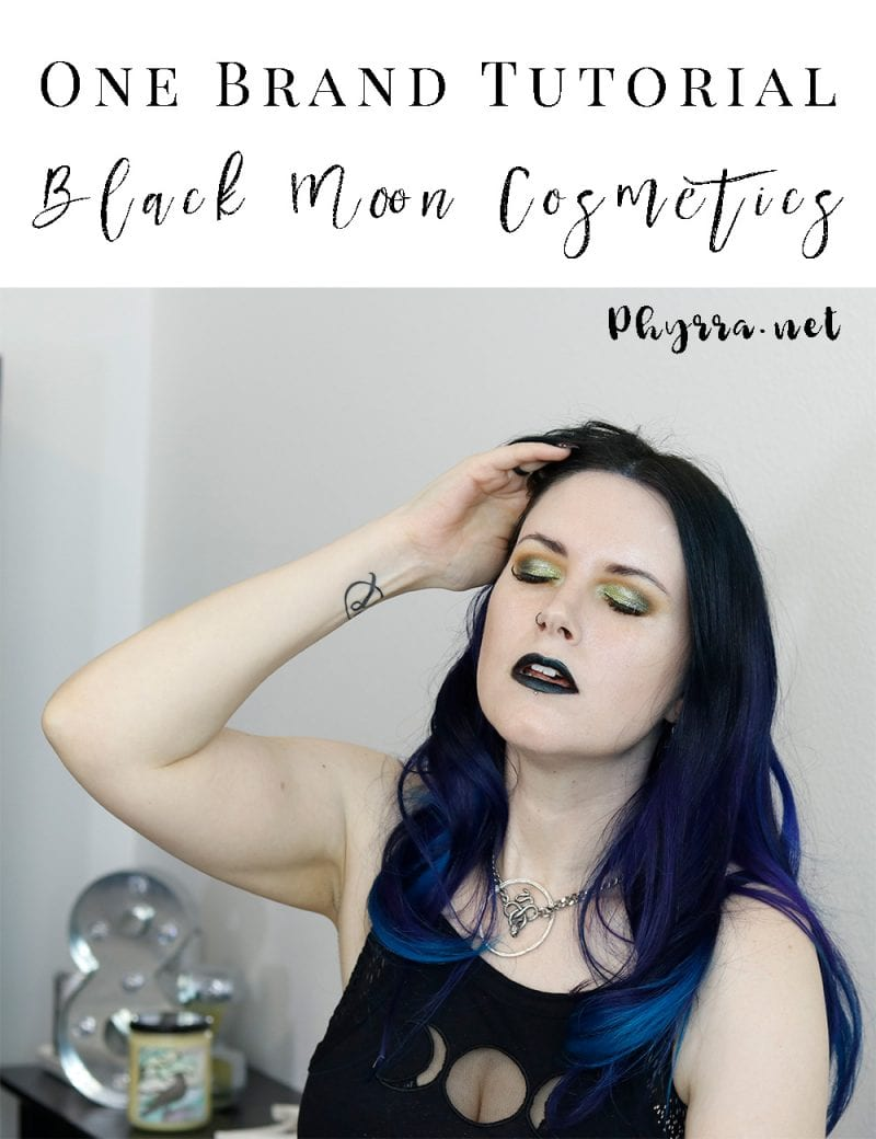 One Brand Tutorial Black Moon Cosmetics