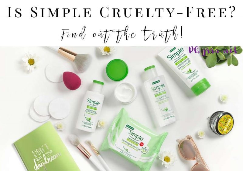 Is Simple Cruelty-free?