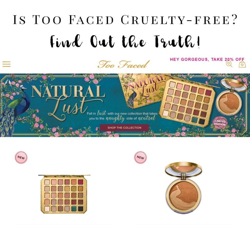 Is Too Faced Cruelty-free?