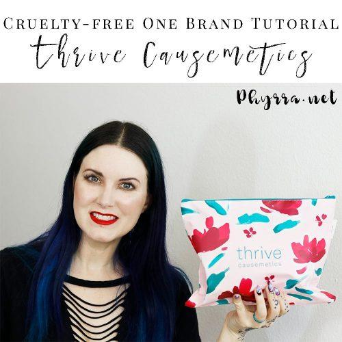 Cruelty-free One Brand Tutorial Thrive Causemetics
