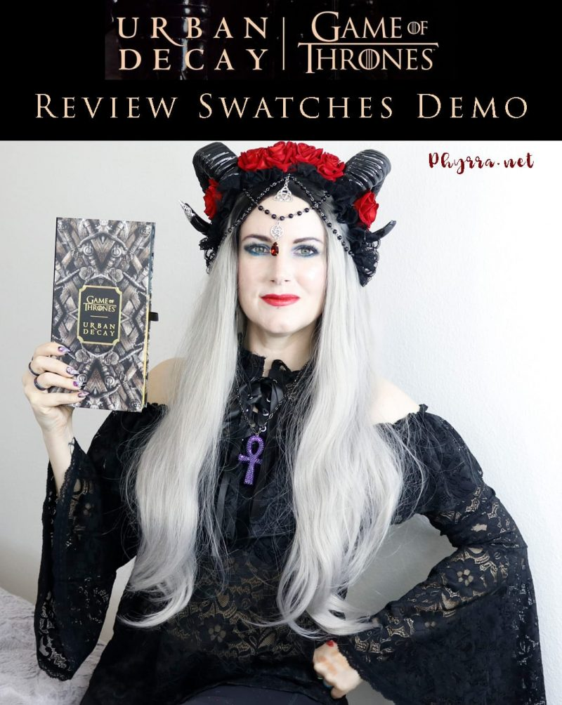 Urban Decay Game of Thrones Collection Review Swatches Demo