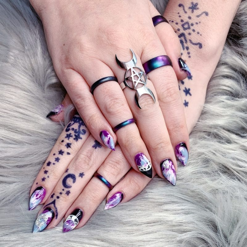 Witch Gel Nail Polish Manicure