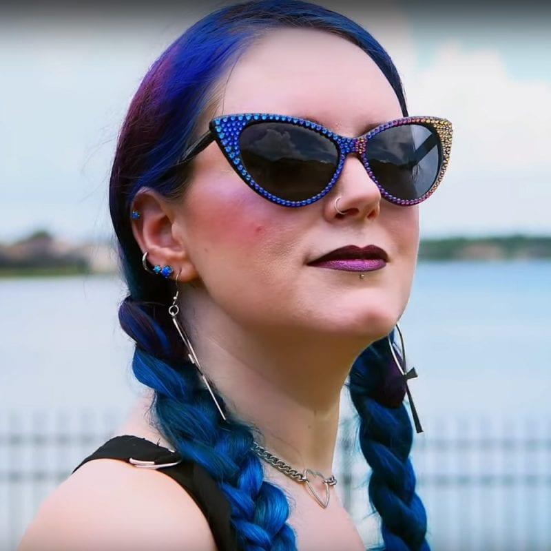 Bunny Paige Femme Fatale Sunglasses