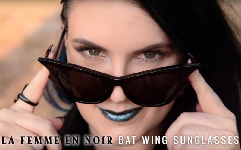 La Femme En Noir Sunglasses