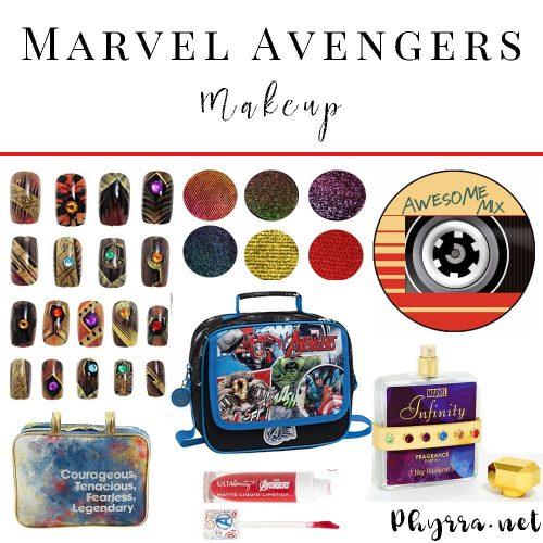 Marvel Avengers Makeup