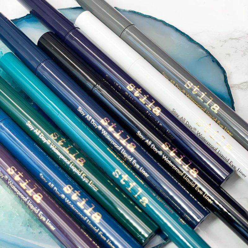 Stila Stay All Day Waterproof Liquid Eyeliners Review