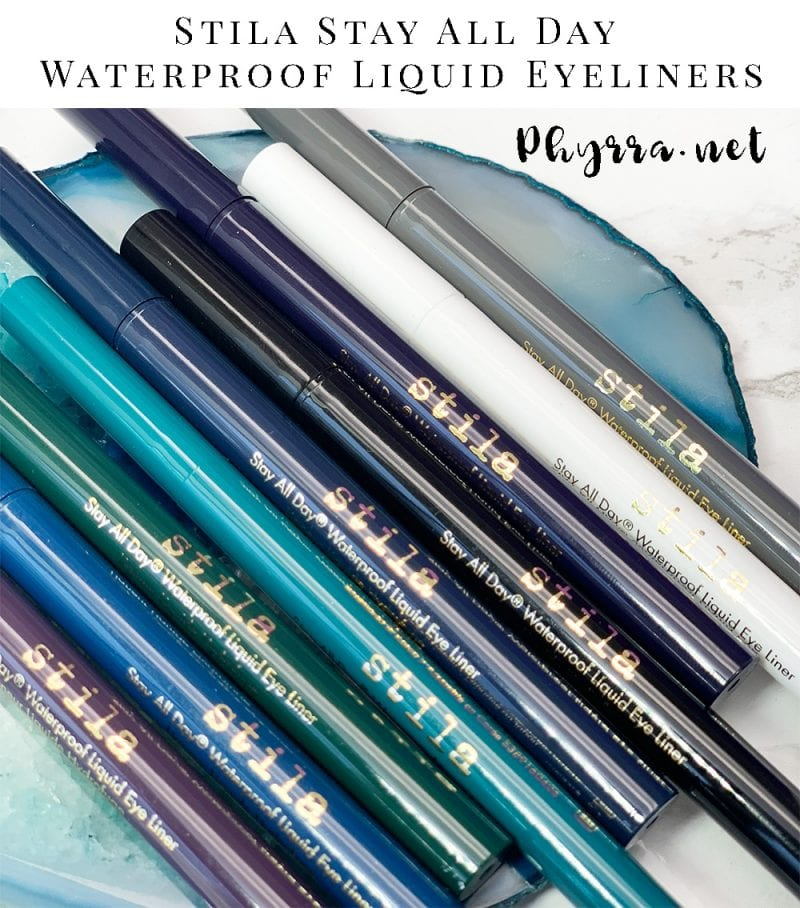 Stila Stay All Day Waterproof Liquid Eyeliners